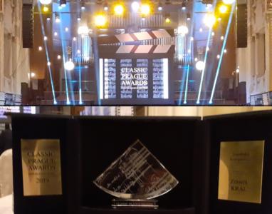 Zdeněk Král získal cenu CLASSIC PRAGUE AWARDS
