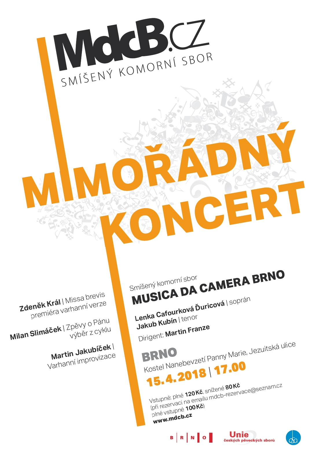 MdcB | Koncert | Brno | 15.4.2018