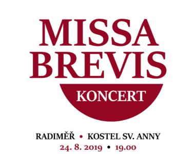 Koncert 24.8.2019 v Radiměři   MISSA BREVIS a další skladby Zdeňka Krále